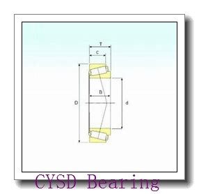22,225 mm x 50,8 mm x 14,288 mm  CYSD 1640-2RS deep groove ball bearings