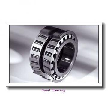 76,2 mm x 123,825 mm x 29 mm  Gamet 123076X/123123XC tapered roller bearings