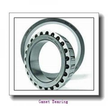 90 mm x 158,75 mm x 42 mm  Gamet 160090/160158XC tapered roller bearings