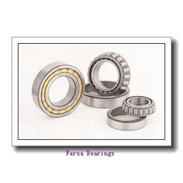 40 mm x 76 mm x 33 mm  Fersa F16198 angular contact ball bearings