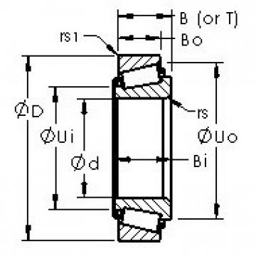 AST 14137A/14277 tapered roller bearings
