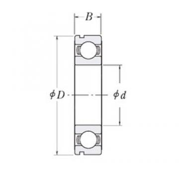 45 mm x 68 mm x 12 mm  CYSD 6909N deep groove ball bearings