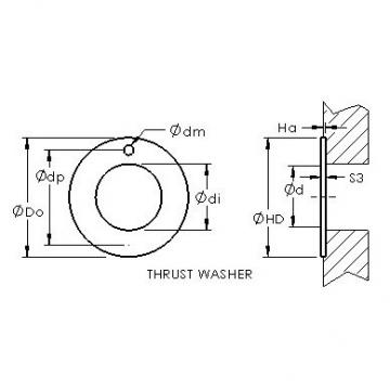AST ASTEPBW 1630-015 plain bearings