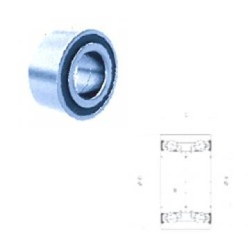 40 mm x 76,04 mm x 41 mm  Fersa F16041 angular contact ball bearings