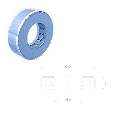 Fersa T163 thrust roller bearings