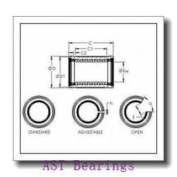 AST H7016C angular contact ball bearings