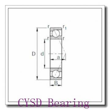 70 mm x 120 mm x 37 mm  CYSD 33114 tapered roller bearings
